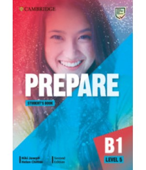 Підручник Cambridge English Prepare! 2nd Edition 5 Student's Book