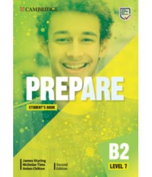 Підручник Cambridge English Prepare! 2nd Edition 7 Student's Book