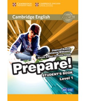 Підручник Cambridge English Prepare! Level 1 (A1) Student's Book