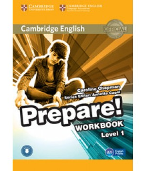 Робочий зошит Cambridge English Prepare! Level 1 (A1) Workbook with Downloadable Audio