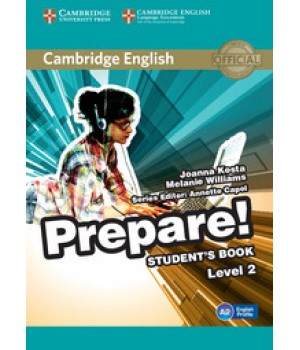 Підручник Cambridge English Prepare! Level 2 (A1-A2) Student's Book
