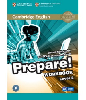 Рабочая тетрадь Cambridge English Prepare! Level 2 (A1-A2) Workbook with Downloadable Audio