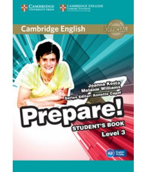 Підручник Cambridge English Prepare! Level 3 (A2) Student's Book