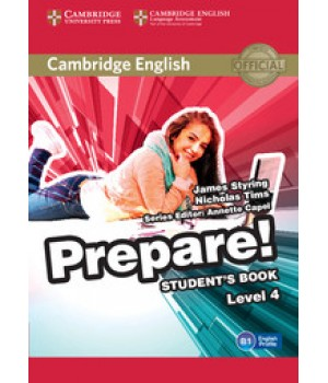Підручник Cambridge English Prepare! Level 4 (A2-B1) Student's Book