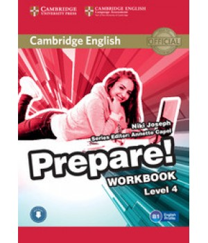 Робочий зошит Cambridge English Prepare! Level 4 (A2-B1) Workbook with Downloadable Audio