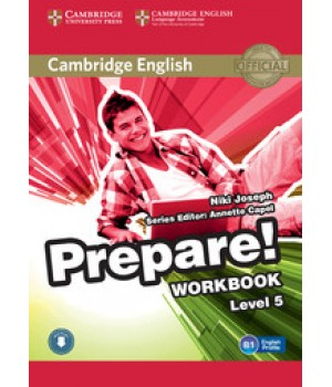 Робочий зошит Cambridge English Prepare! Level 5 (B1) Workbook with Downloadable Audio
