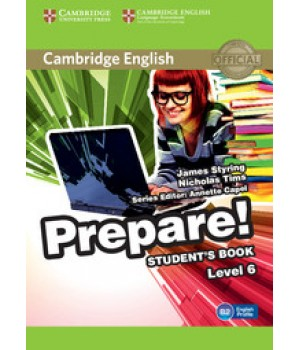 Підручник Cambridge English Prepare! Level 6 (B1-B2) Student's Book