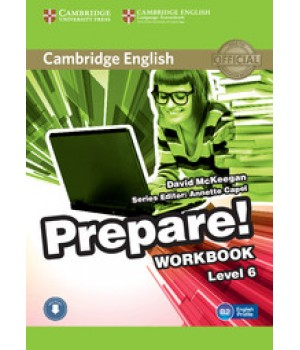 Робочий зошит Cambridge English Prepare! Level 6 (B1-B2) Workbook with Downloadable Audio