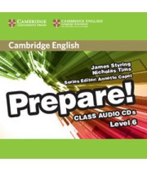 Диски Cambridge English Prepare! Level 6 (B1-B2) Class Audio CDs (2)