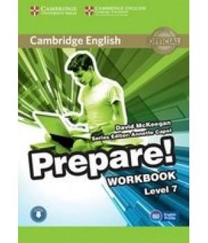 Робочий зошит Cambridge English Prepare! Level 7 (B2) Workbook with Downloadable Audio