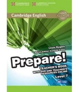 Книга для вчителя Cambridge English Prepare! Level 7 (B2) Teacher's Book with DVD and Teacher's Resources Online