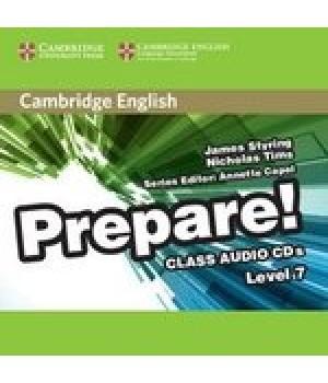 Диски Cambridge English Prepare! Level 7 (B2) Class Audio CDs (3)