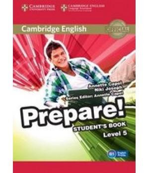 Підручник Cambridge English Prepare! Level 5 (B1) Student's Book