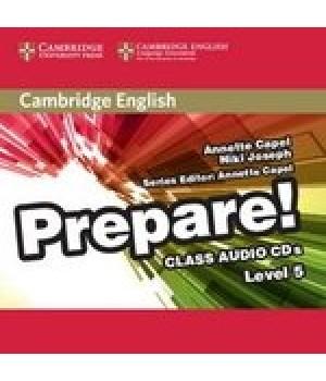 Диски Cambridge English Prepare! Level 5 (B1) Class Audio CDs (2)
