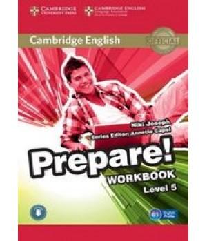 Робочий зошит Cambridge English Prepare! Level 5 (B1) Workbook with Downloadable Audio