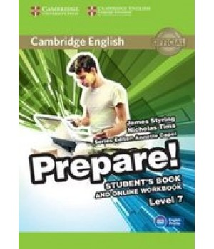 Підручник Cambridge English Prepare! Level 7 (B2) Student's Book and online Workbook