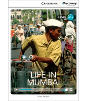 Книга для чтения Cambridge Discovery Education Interactive Readers Level A1+ Life in Mumbai