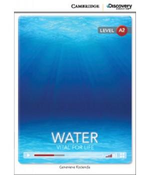 Книга для чтения Cambridge Discovery Education Interactive Readers Level A2 Water: Vital for Life