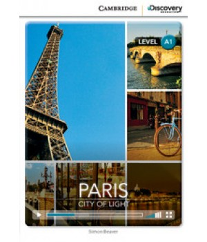 Книга для чтения Cambridge Discovery Education Interactive Readers Level A1 Paris: City of Light