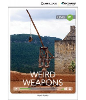 Книга для читання Cambridge Discovery Education Interactive Readers Level B1 Weird Weapons