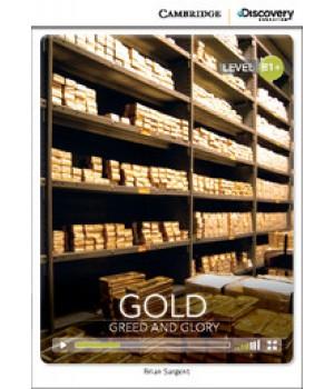 Книга для читання Cambridge Discovery Education Interactive Readers Level B1+ Gold: Greed and Glory