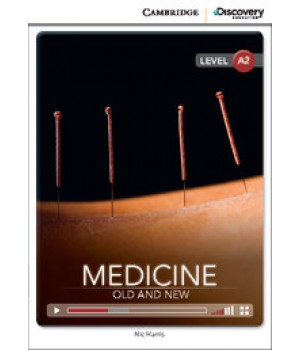 Книга для чтения Cambridge Discovery Education Interactive Readers Level A2 Medicine: Old and New