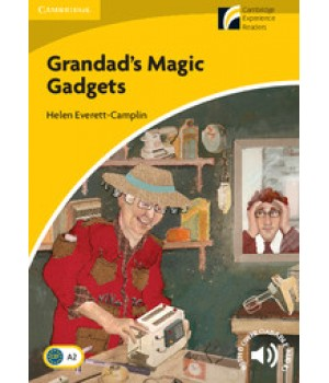 Книга для читання Cambridge Discovery Readers Level 2 Grandad's Magic Gadgets Book with CD-ROM and Audio CD Pack