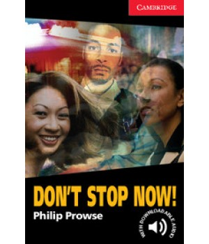 Книга для читання Cambridge English Reader Level 1 Don't Stop Now! + Downloadable Audio
