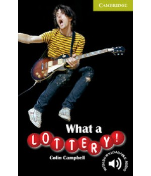 Книга для читання Cambridge English Readers Starter Level What a Lottery! Reader + Audio CD