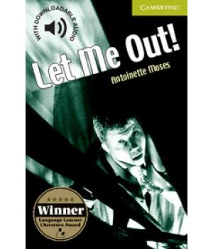 Книга для читання Cambridge English Readers Starter Level Let Me Out! Reader + Audio CD