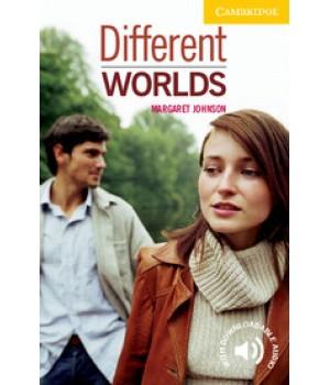 Книга для читання Cambridge English Readers Level 2 Different Worlds Reader + Audio CD