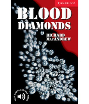 Книга для чтения Cambridge English Readers Level 1 Blood Diamonds Reader + Audio CD