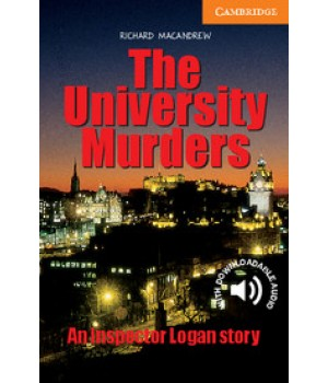Книга для чтения Cambridge English Readers Level 4 University Murder Reader + Audio CD