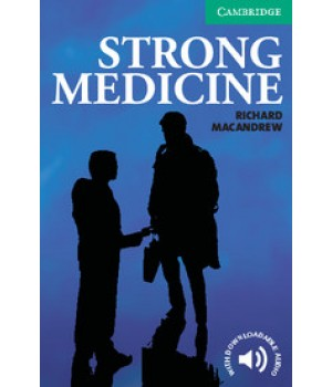 Книга для читання Cambridge English Reader Level 3 Strong Medicine Reader + Audio CD