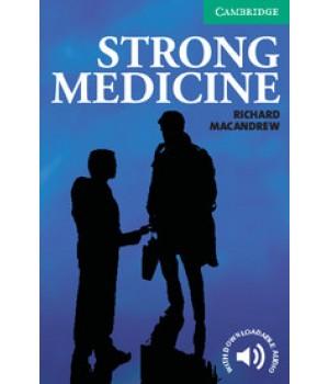 Книга для читання Cambridge English Readers Level 3 Strong Medicine Reader + Audio CD