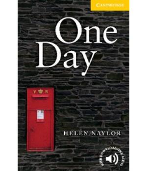 Книга для читання Cambridge English Readers Level 2 One Day Reader + Audio CD