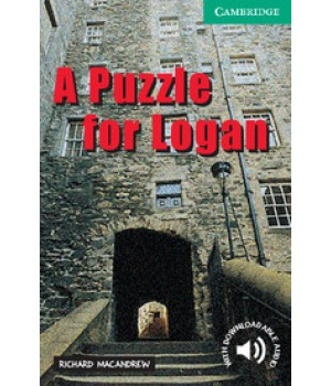 Книга для читання Cambridge English Reader Level 3 A Puzzle for Logan + Downloadable Audio