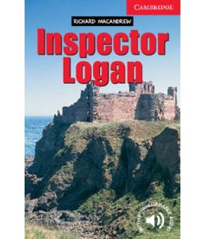 Книга для читання Cambridge English Reader Level 1 Inspector Logan + Downloadable Audio