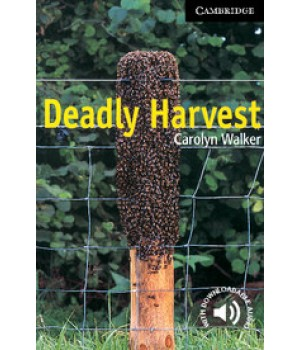 Книга для читання Cambridge English Reader Level 6 Deadly Harvest + Downloadable Audio