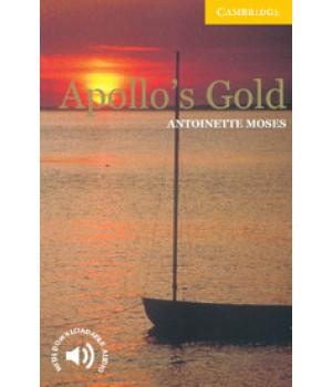 Книга для читання Cambridge English Readers Level 2 Apollo's Gold Reader + Audio CD