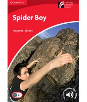 Книга для читання Cambridge Experience Readers Level 1 Spider Boy + Downloadable Audio