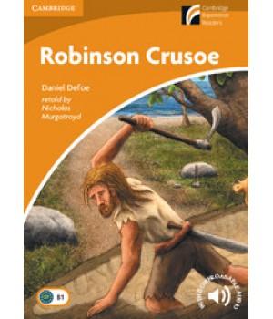 Книга для читання Cambridge Experience Readers Level 4 Robinson Crusoe + Downloadable Audio