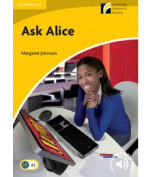 Книга для читання Cambridge Experience Readers Level 2 Ask Alice + Downloadable Audio