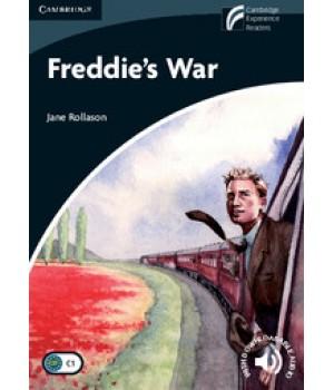 Книга для читання Cambridge Discovery Readers Level 6 Freddie's War: Book with CD-ROM and Audio CDs