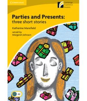 Книга для читання Cambridge Experience Readers Level 2 Parties & Presents: Three Short Stories + Downloadable Audio