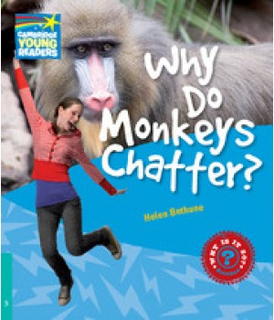 Книга для читання Cambridge Young Readers Level 5 Why Do Monkeys Chatter?