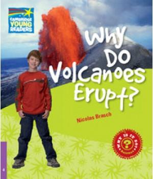 Книга для читання Cambridge Young Readers Level 4 Why Do Volcanoes Erupt?