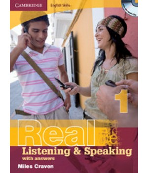 Підручник Real Listening & Speaking 1 with answers and Audio CD