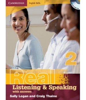Підручник Real Listening & Speaking 2 with answers and Audio CD