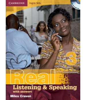 Підручник Real Listening & Speaking 3 with answers and Audio CD